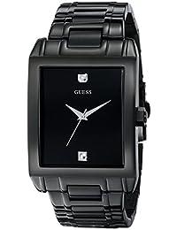 GUESS Men's U12557G1 Analog Display Quartz Black Watch
