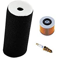 1UY-14451-00-00 Air Filter with D8EA Spark Plug Oil...