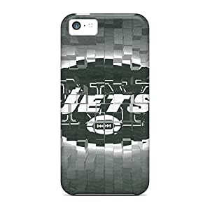 Tpu Shockproof/dirt-proof New York Jets Cover Case For Iphone(5c)