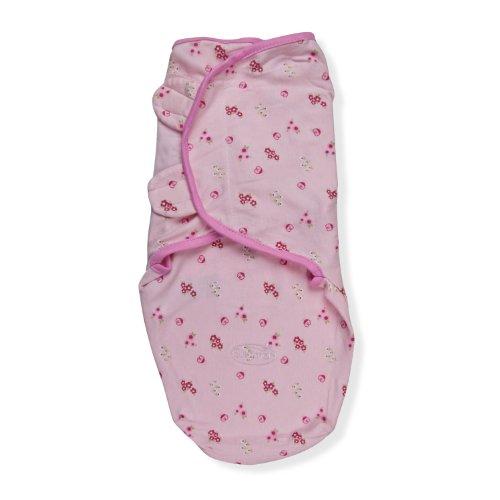 Summer Infant Swaddleme Adjustable Infant Wrap, Ladybug, Sma