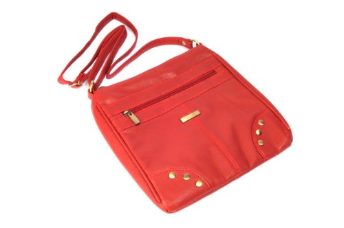 Cross red Soft Small Bag Ladies Pu Body Stylish qRIfvwx