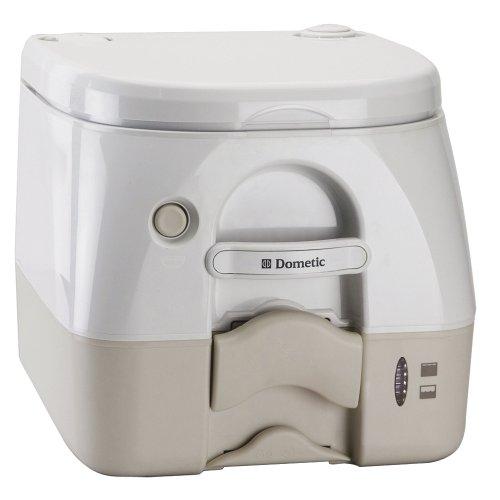 Dometic 974Msd Portable Toilet 2.6 Gal Tan W/ Brackets Msd (Part #301197402 By Dometic Sanitation) (974msd Portable Toilet)