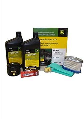 Kit de mantenimiento para de John Deere LT133, LT150, LT155, lx173 ...