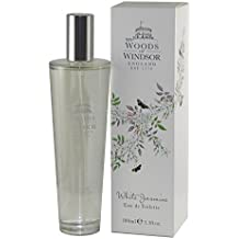 Woods of Windsor White Jasmine Eau De Toilette Spray for Women, 3.3 Ounce
