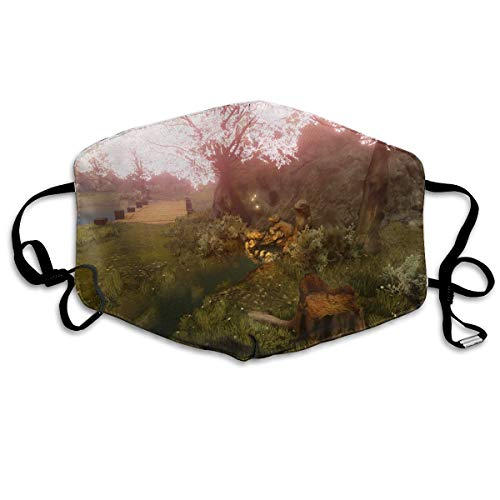 The Legend of Zelda Twilight Princess Face Mask with Ear Loops Mouth Mask Anti Pollution Respirator Dust Mask Earloop Face Dust