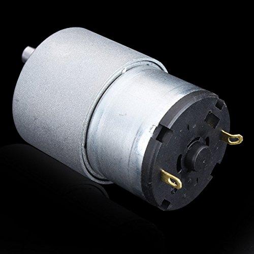 LEEPRA 12V DC Metal Gear Reducer Motor High Torque DC Gear Box Motor (Rotate Speed 130RPM)
