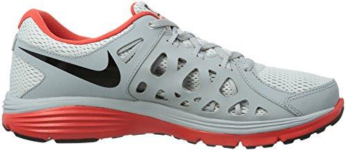 Blk Run Uomo Gry 2 Nike Fusion Grigio lt corsa wlf Scarpe Dual Pr Crmsn Grau da Pltnm w1nq07BX
