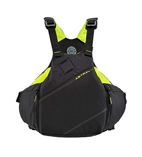Astral YTV Life Jacket PFD for Whitewater, Touring Kayaking, Sailing and Stand Up Paddle Boarding, Slate Black, - Jacket Lock Life
