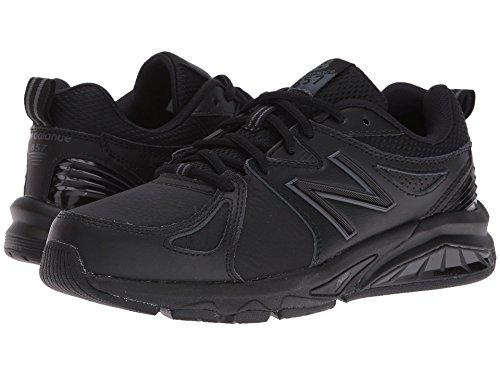 実験乳白色勤勉な(ニューバランス) New Balance レディーストレーニング?競技用シューズ?靴 WX857v2 Black/Black 6.5 (23.5cm) EE - Extra Wide
