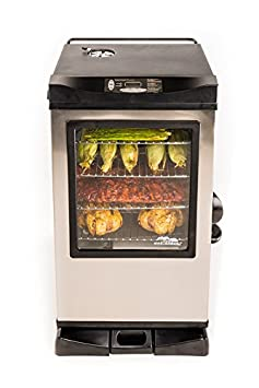 Masterbuilt 20077615 Digital Electric Smoker with Window and Bonus Pack, 30
