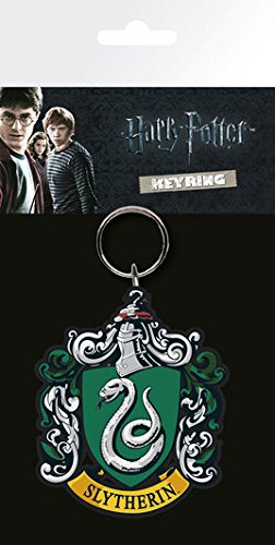 Harry Potter Slytherin Keyring KR0368