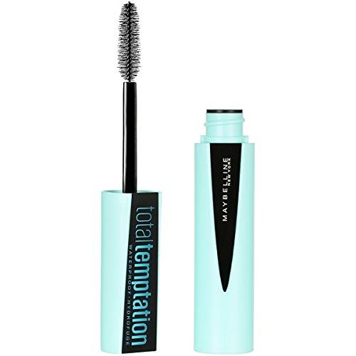 Maybelline New York Makeup Total Temptation Waterproof Mascara, Brownish Black Waterproof Mascara, 0.3 fl ()