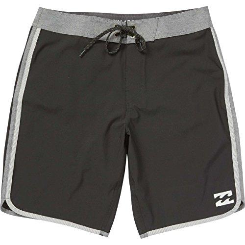 Billabong Men's 73 Stretch Boardshorts, Black, 32 Billabong Flap Pocket Boardshorts