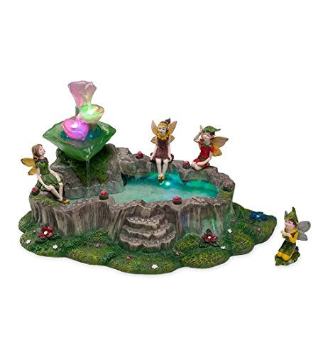 Light-Up Fairy Fountain (Water Fairy compare prices)