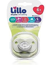 Chupeta Soft Calming 100% Silicone Simetrico - Lillo