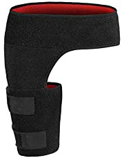 Groin Support Wrap, Adjustable Groin Compression Sleeve Brace Wrap Hip Brace for Sciatica Pain Relief