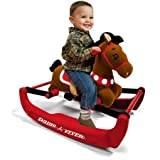 Radio Flyer Soft Rock & Bounce Pony with Sound