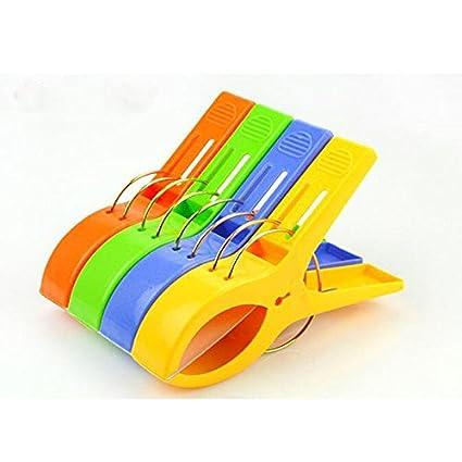 Vale® clips colorido Toalla de playa en colores brillantes de la diversión - Mantenga su toalla ...