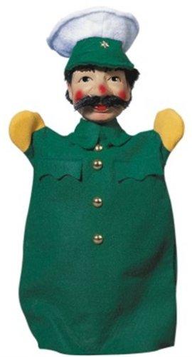KERSA 30110 - Polizist, grün grün Figurentheater / Handpuppen Figurentheater und Zubehör