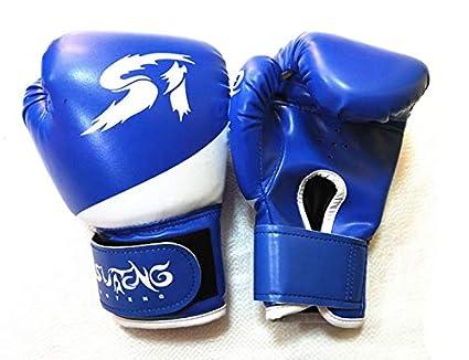 Gants de Boxe MPLG 2-8 Ans Gar/çon Fille Enfant Boxe Muay Thai Gants Lutte Sanda Formation Gants /Équipement