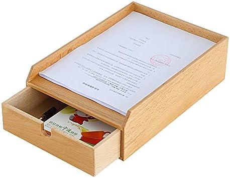 Cajas de almacenaje Caja De Almacenamiento De Acabado De Escritorio Oficina De Madera Gabinete De Archivo De Escritorio Multifunción Caja De Herramientas De Almacenamiento De Residuos De Libro Estante: Amazon.es: Electrónica