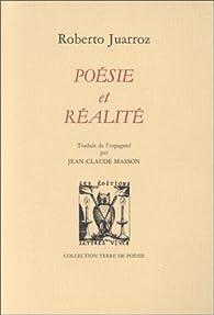Poésie et réalité par Roberto Juarroz