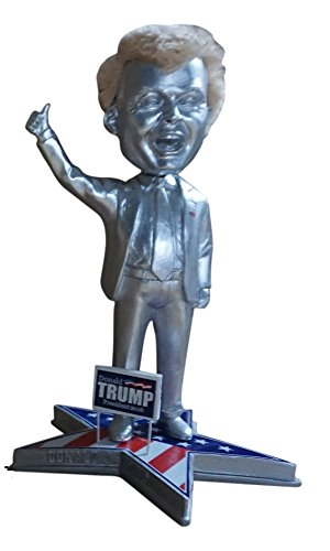 Donald Trump Presidential Candidate Political Bobblehead (silver variant - Variant Bobble Head