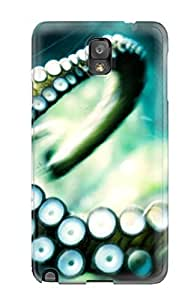 Galaxy Cover Case - Octopus Protective Case Compatibel With Galaxy Note 3