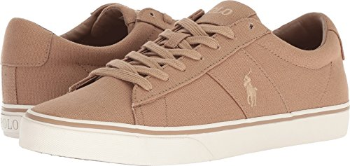 Polo Ralph Lauren Men's Sayer Sneaker, Regiment Khaki, 13 D US -