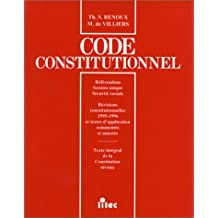 Code constitutionnel supplement 97 (ancienne édition)