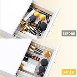 Kootek 21 Pcs Desk Drawer Organizer Trays 4-Size