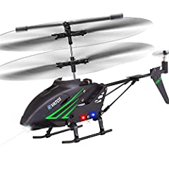 Durable RC HelicopterVatos S880 is made with a high quality metal body frame, which has proven to withstand dozens of crashes. Super durable rc helicopter. Just enjoy the fun of playing with S880. Easy to controlBuilt-in great Gyro technology...