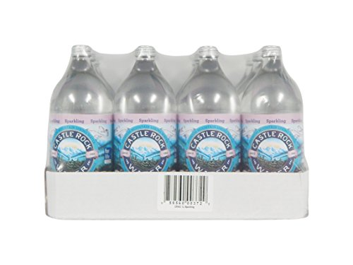 Castle Rock Water Sparkling Spring, 33.8 Fluid Ounce (Pack of 12)