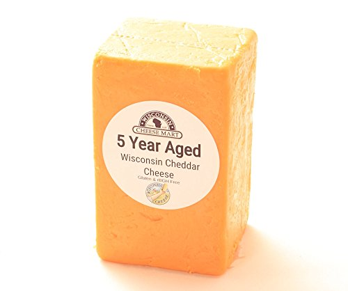5 Year Aged Cheddar Cheese Half (Aged Sharp Cheddar)