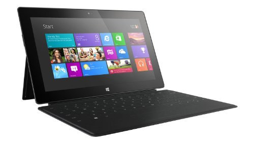Microsoft Surface (32GB with Black Touch Cover) (Renewed)