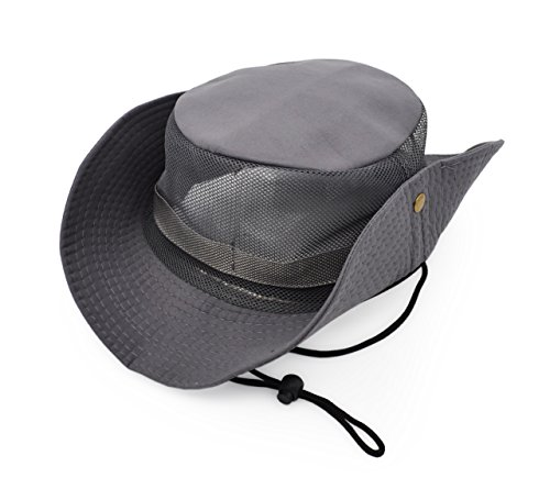 Outdoor Sun Protect Hat Army Style Sun Cap with Polyester Mesh Panel Keep Cool