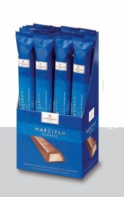 Niederegge Milk Chocolate Marzipan Bar 40g (6-pack) by Niederegger