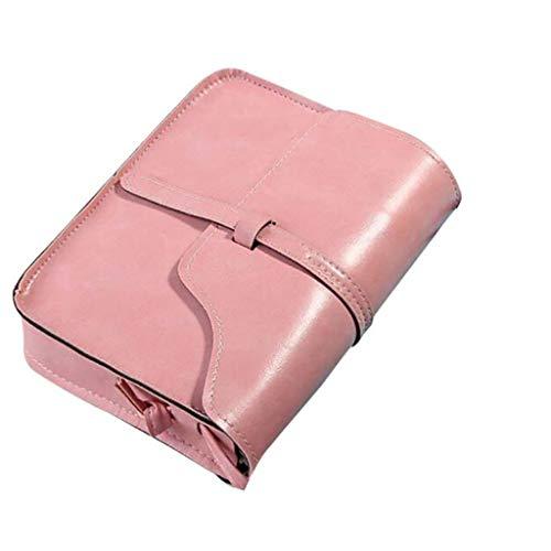 LiLiMeng Vintage Purse Bag Leather Cross Body Shoulder Messenger Bag PK