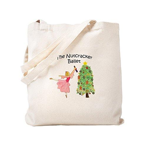 CafePress - Clara And Her Nutcracker Gift - Natural Canvas Tote Bag, Cloth Shopping ()