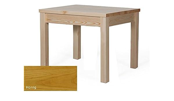 Mesa de comedor de madera mesa mesa rectangular 80 x 60 h de 76 ...