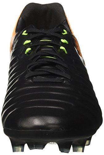black white Fg laser Nike De Tiempo Chaussures Legacy Orange Homme Football volt Iii Noir gqAxzwqTZ