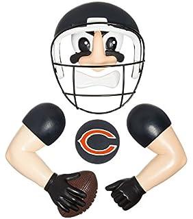 Amazon.com : NFL Timeout Tikes Statue NFL Team: Chicago Bears ...