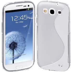 Shawnex S-Line Back Flexible TPU Cover Case for Samsung Galaxy S III S3 (AT&T, T-Mobile, Sprint, Verizon, US Cellular, International) - Clear