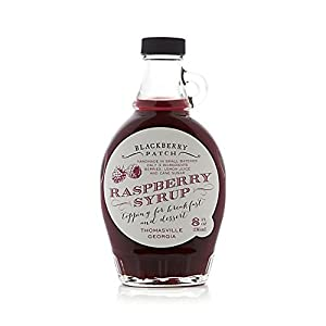 Raspberry Syrup 3 Ingredients - Blackberry Patch 8 oz Bottle – Oprah's Favorite Things 2014, Small Batch & Handmade in Georgia, Perfect on Pancakes, Waffles & French Toast, Great Dessert Topping