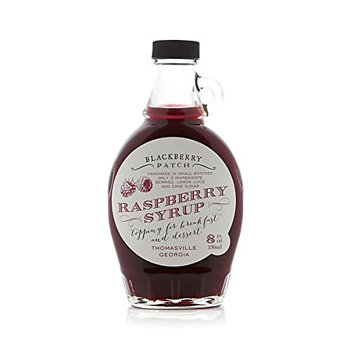 Raspberry Syrup 3 Ingredients - Blackberry Patch 8 oz Bottle