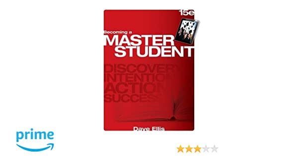 Becoming a master student dave ellis 9781285193892 education becoming a master student dave ellis 9781285193892 education amazon canada fandeluxe Gallery