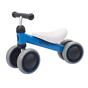 XJD 8 Colors Baby Balance Bikes Toddler Trike 10-24 Months No Foot Pedal Bicycle(Blue)