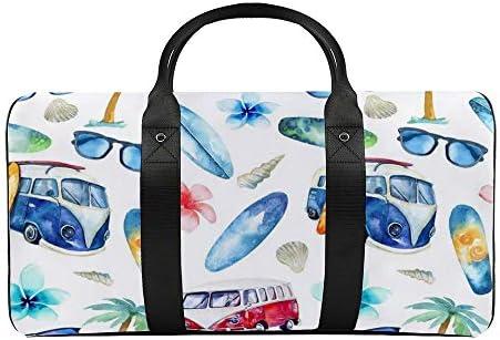 個性的なパターン1121 旅行バッグナイロンハンドバッグ大容量軽量多機能荷物ポーチフィットネスバッグユニセックス旅行ビジネス通勤旅行スーツケースポーチ収納バッグ