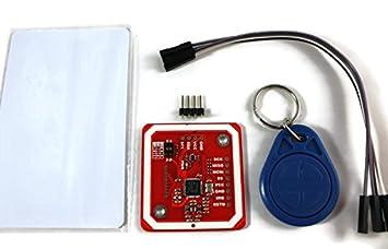 NFC Kit de PN532 con RFID de día y de tarjetas Mifare para Arduino ...