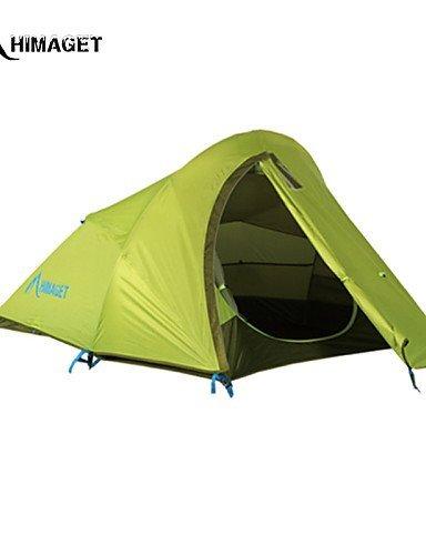 FUDA tent Zelt ( Hellgr¨¹n , 2 Personen ) -Feuchtigkeitsdurchl?ssigkeit / Feuchtigkeitsundurchl?ssig / Wasserdicht / Atmungsaktivit?t / UV-resistent